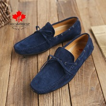 casual loafers for men,DECARSDZ men's shoes,Spring and summer new casual shoes,Pure hand sewing Men's moccasin,Light flat shoes