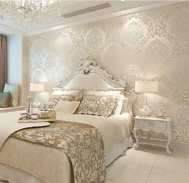 Buy 3d walls wallpaper rolls photo wall for Home wallpaper designs for living room