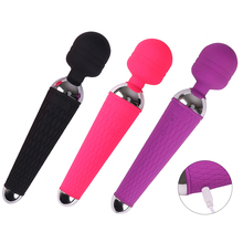AV Magic Wand Vibrator Massager Sex Toys for Women USB Rechargeable G-Spot Stimulate Vibrators Masturbator for Couples