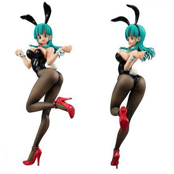 20cm Bulma Bunny Girl Dragon Ball Anime Figures Action & Toy Figures Model Collection For Christmas birthday