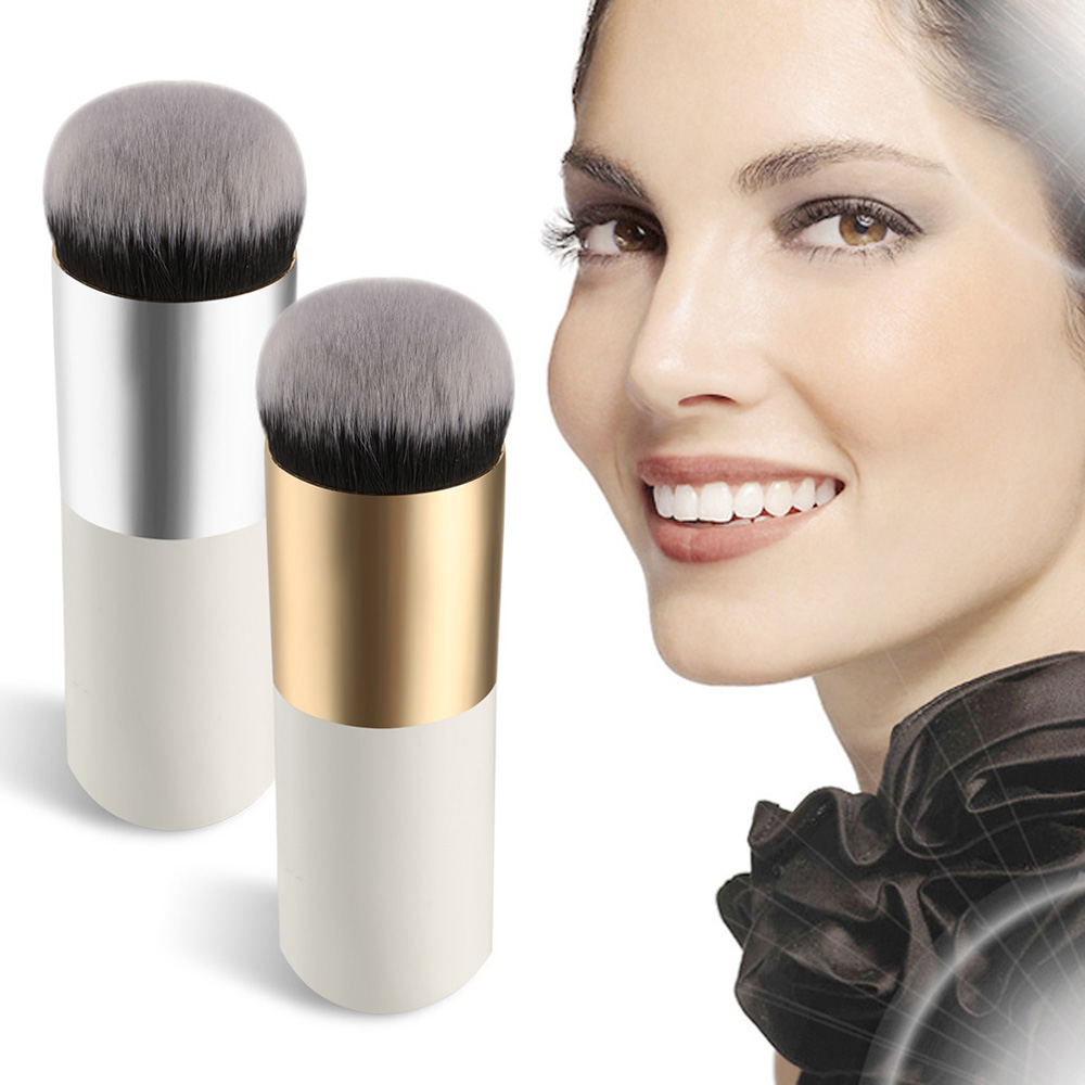 1PCS Chubby Pier Foundation Brush Flat Cream Makeup Brushes BB Cream Makeup Brushes Professional Cosmetic Make-up Brush