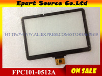 New Arrival 10 1inch Tablet Touch Panel Touch Screen Digitizer Glass FPC101 0512A