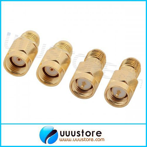 4pcs 5.8G SMA Female/Male FPV Antenna Aerial Connector Adapter for Rx and Tx 5 8g 11dbi 200mw panel antenna w 5 8g right angle tx sma female antenna gains for fpv
