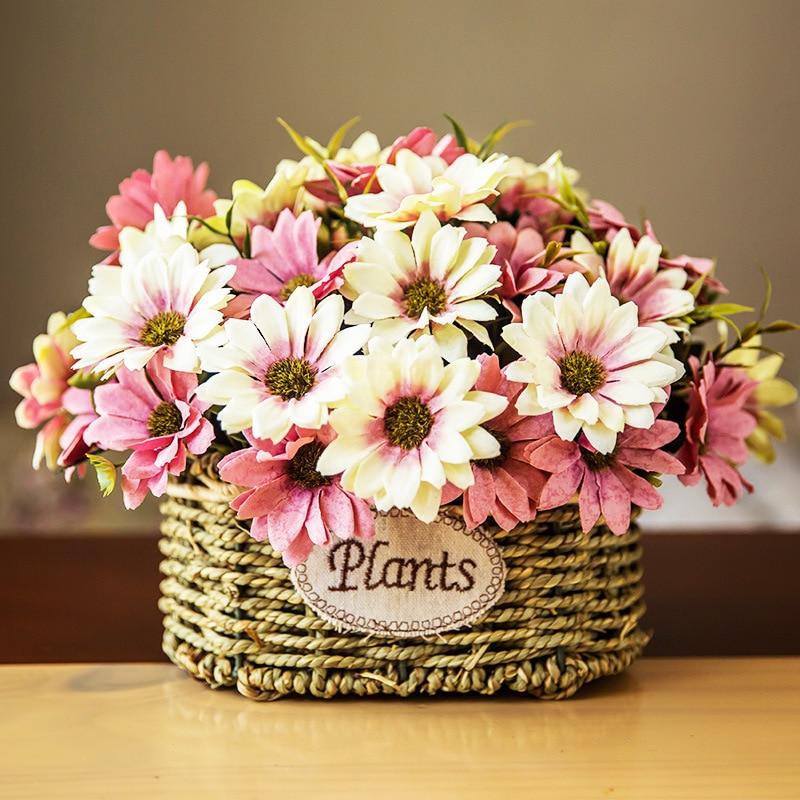 Fall Wedding Flowers List: Autumn Artificial Dried Flowers For Wedding Decoration