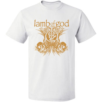LOGO GRAPHIC HEAVY METAL LAMB OF GOD ROCK BAND VINTAGE Free Shipping Tee S -3XL Tops Summer Cool Funny T-Shirt T Shirt Shirt Men love jesus cuss little funny shirt cool southern country gift t shirt free shipping tops fashion classic unique gift