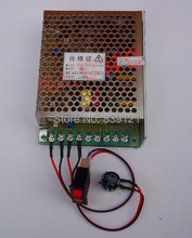 Мотор шпинделя 300 Вт PWM скорость широкополосного регулятор скорости управления diy гравировальный станок С ЧПУ E240 E543 источник питания постоянного тока