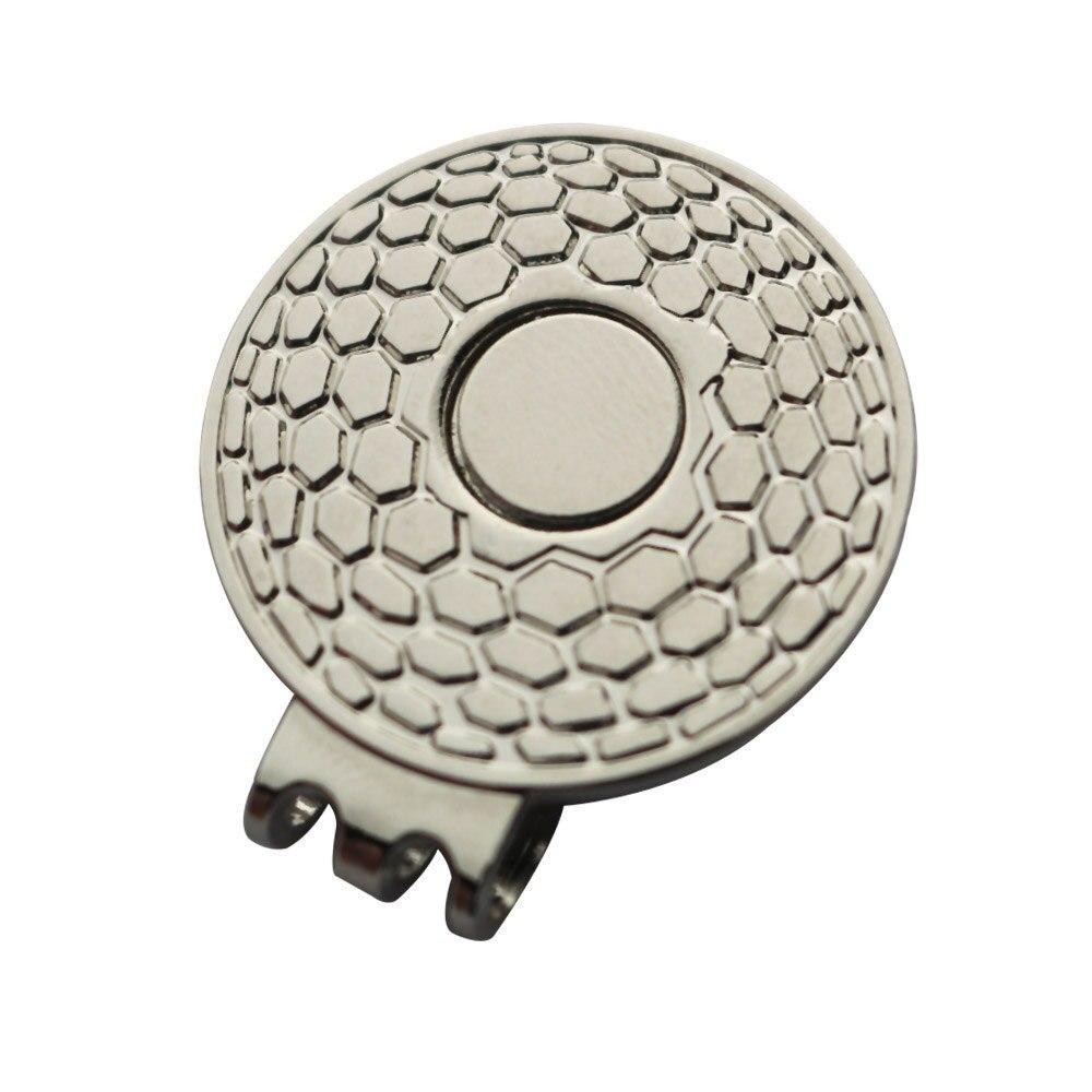 磁気ゴルフ帽子クリップ & キャップクリップシルバー色、 Nickle 用 suitable 金属ゴルフボールマーカー  グループ上の スポーツ & エンターテイメント からの ゴルフトレーニングエイド の中 1