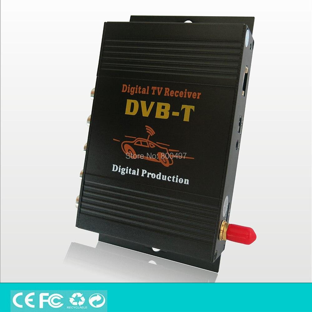 Car DVB-T HD 1080P HDMI CVBS Mobile Digital TV Receiver Mobile Car DVB-T MPEG4 MPEG2 Digital TV Tuner HD Receiver Box Set dvb t isdb digital tv box for our car dvd player