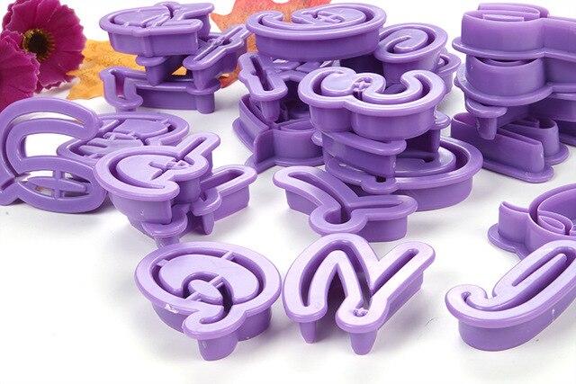 Fondant Formen Lustige 26 Alphabet Buchstaben Form Kuchen Cutter