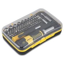 65 in 1 Repair Tool Kit Screwdrivers Set Kit for iOS Andriod Phones Tablet Watch