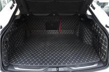 Hohe qualität! spezielle kofferraum-matten für Neue Maserati Levante 2016 dauerhaft wasserdicht boot teppiche für Levante 2016, Freies verschiffen