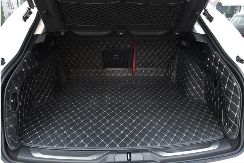 High quality! Special trunk mats for Maserati Levante 2017 durable cargo liner boot carpets for Levante 2018 2016,Free shipping