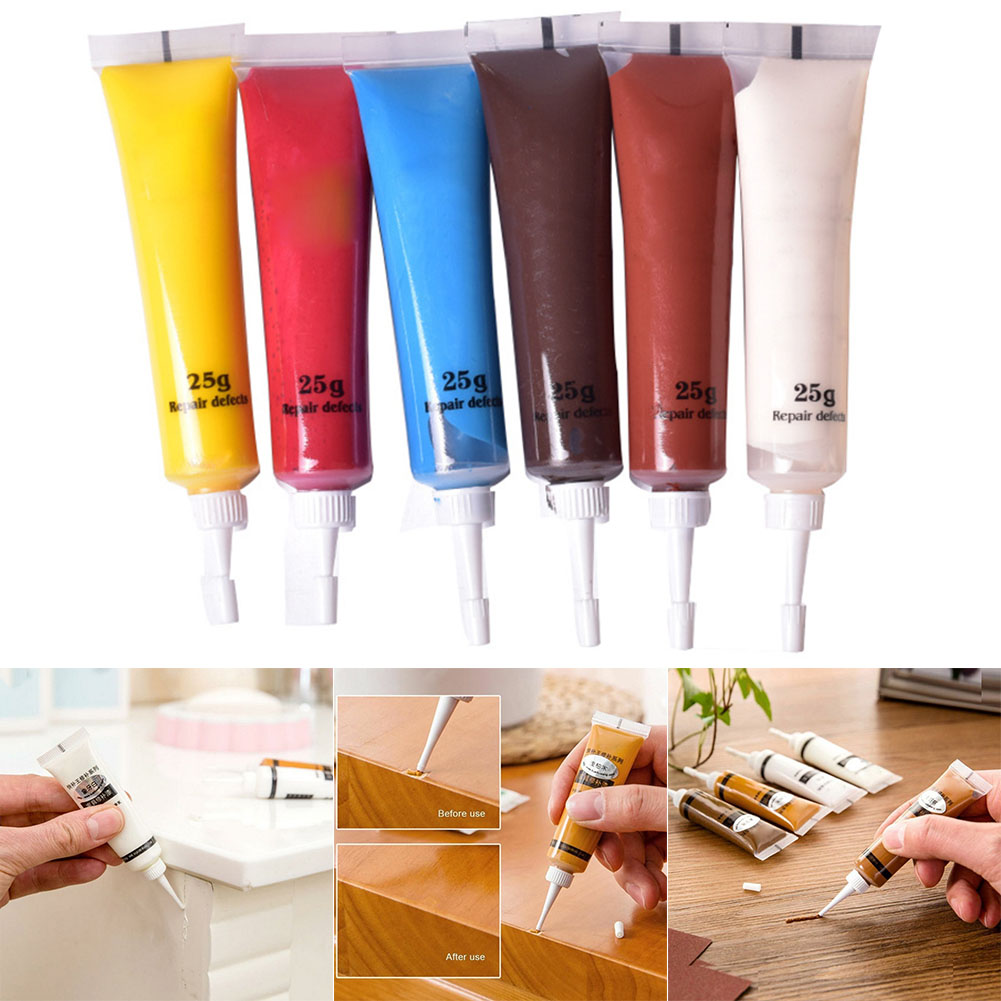 2Pcs Furniture Scratch Fast Remover Solid Wood Refinishing Paste Repair Paint Pen CLH@8