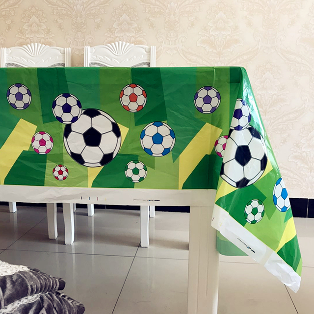 Football Themed Birthday Party Supplies Teenagers Disposable Plastic