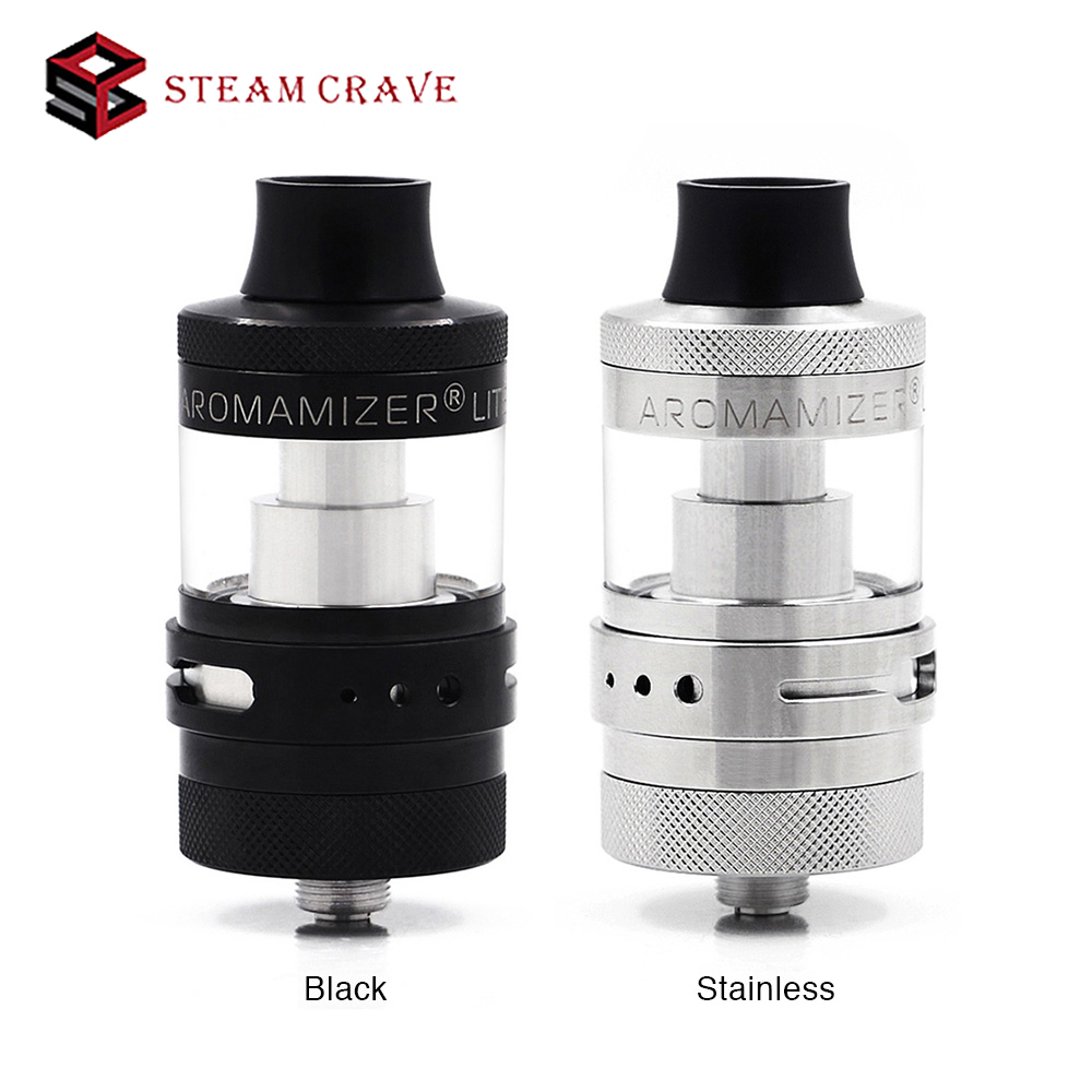 New Original Steam Crave Aromamizer Lite RTA with 3 5m 4 5ml Capacity 23mm Diameter E