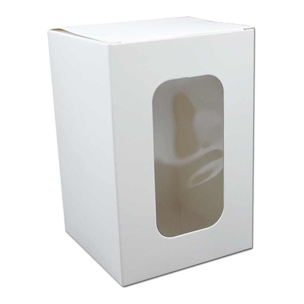 100 Pcs กระดาษคราฟท์สีขาวพับกล่องบรรจุภัณฑ์งานแต่งงานขนาดเล็กของขวัญกระดาษแข็งกล่องบรรจุสำหรับ Handmade Soap Candy แพ็ค-ใน ถุงของขวัญและอุปกรณ์ห่อ จาก บ้านและสวน บน   2