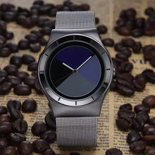 Paidu Brand Mens Watch Simple Design Casual Role Full Steel Black Celeste Mixed colors Women Quartz Watch Relogio Masculino