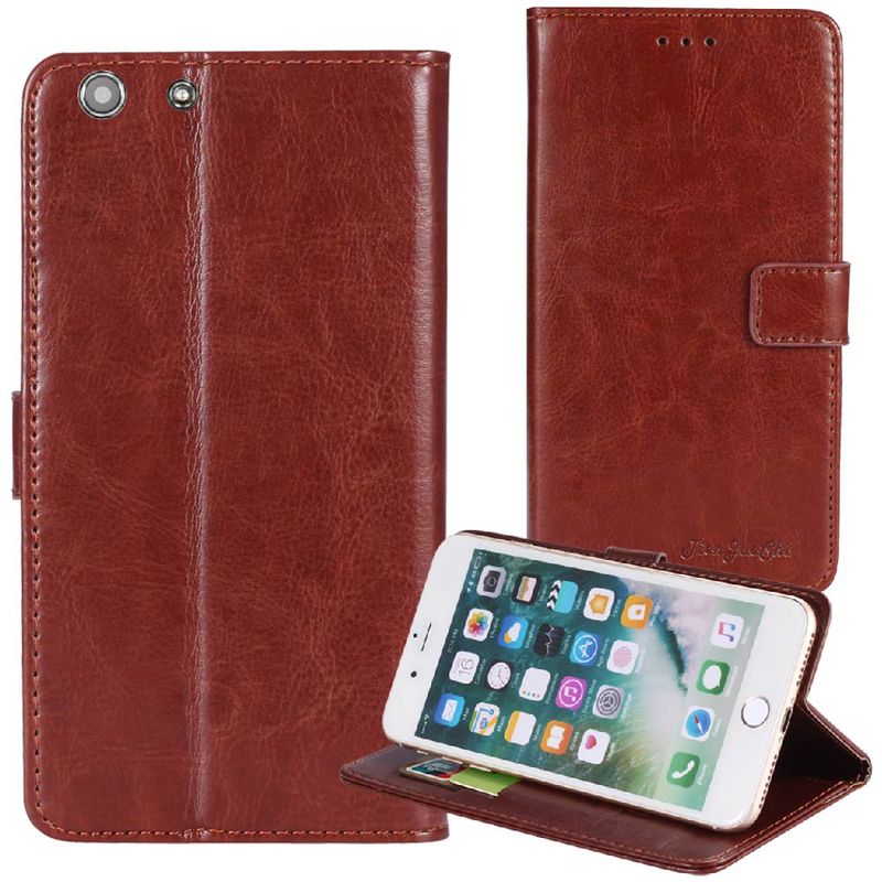 Phone Pouch Phone Bags & Cases Inventive Tienjueshi Flip Book Design Protect Leather Cover Shell Wallet Etui Skin Case For Digma Vox S503 4g 5 Inch Excellent In Cushion Effect