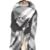 Bufandas Bufanda de las mujeres 2016 Nuevas Mujeres de Invierno de Gran Tamaño Bufanda Cuadrada Chal de Cachemira De Color Hechizo Blanco Y Negro Schal