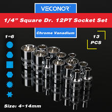 Popular 14mm square socket buy cheap 14mm square socket lots from 13pcs 14 square drive 12pt socket set ratchet wrench socket power tool accessories crv 4 to 14mm publicscrutiny Gallery