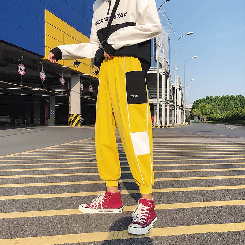 Pants Boomer Hip-hop Easy Leisure Time Haren Men Joggers Hip Hop Pantalon Homme Streetwear Skateboard Personality City Boy Best