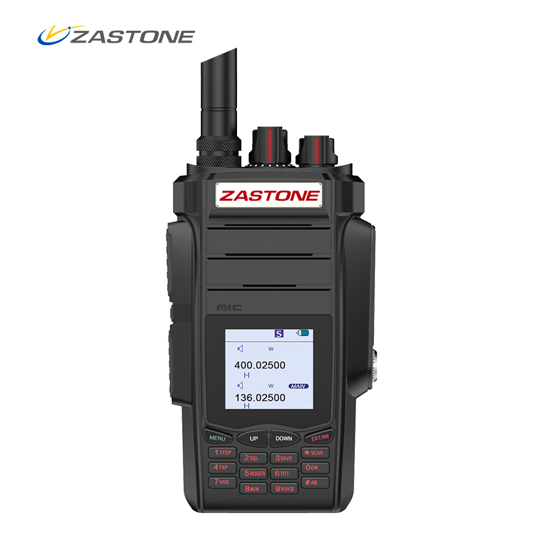 Zastone A19 Walkie Talkie 10W CB Radio Transceiver 10W VHF&UHF Handheld For Hunting Radio 136-174/400-480mhz