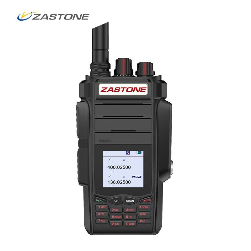 Zastone A19 Walkie Talkie 10W CB Radio Transceiver 10W VHF&UHF Handheld For Hunting Radio 136-174/400-480mhz