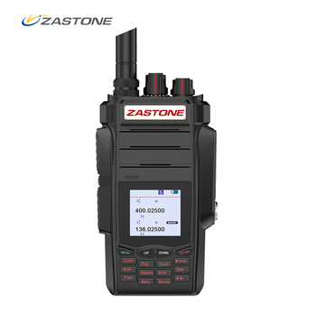 Zastone A19 Walkie Talkie 10W CB Radio Transceiver 10W VHF&UHF Handheld For Hunting Radio 136-174/400-480mhz 2pcs quansheng tg uv2 plus walkie talkie 10km 10w 4000mah ham radio uhf vhf radio ham hf transceiver cb radio tg uv2 2 way radio