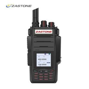 Image 1 - Zastone a19 10w walkie talkie alto powe dupla exibição de rádio em dois sentidos vhf & uhf handheld para a caça presunto fm transceptor