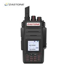 Zastone zt A19 10W Walkie Talkie di alta powe Dual display Two Way radio VHF e UHF Tenuto In Mano Per La Caccia prosciutto Ricetrasmettitore FM