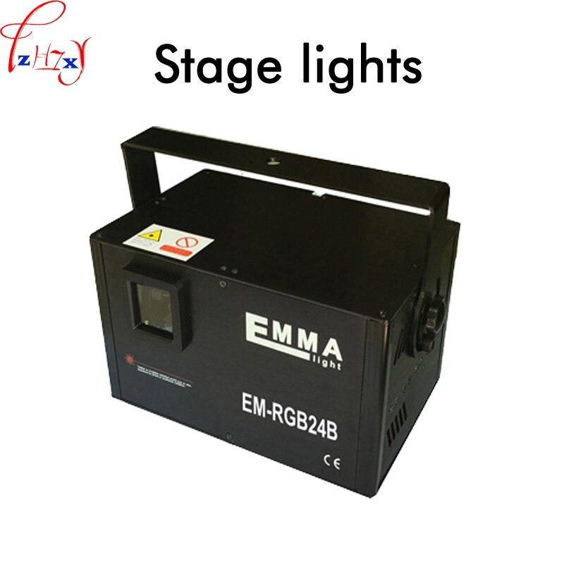 30K New Dance hall beam lamp 50 60HZ vibration mirror key screen full color animation laser lighting KTV bar lights 110 250V 1PC