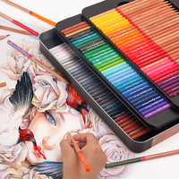 Marco 24 36 48 72 100 Colors Pencils Professional Oil Painting Drawing Pencils Color Artist Drawing