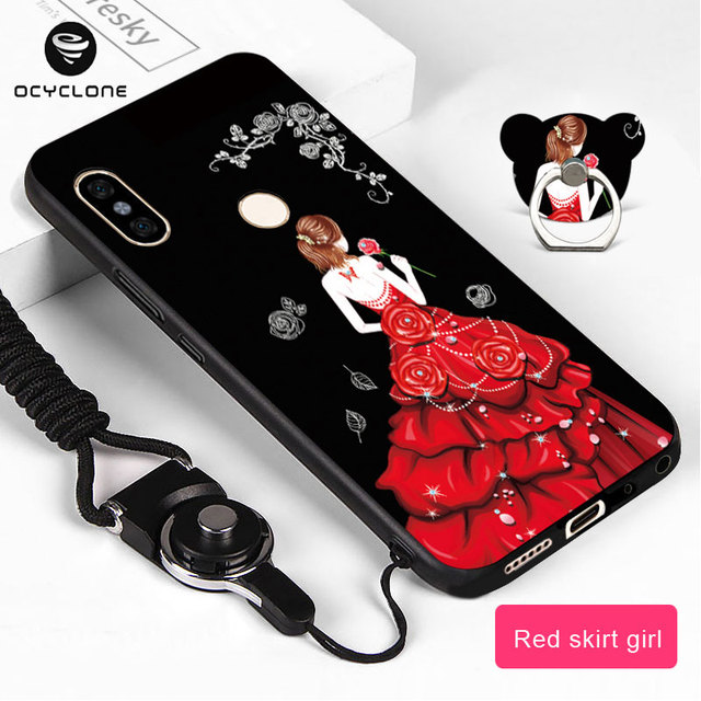 huge discount e4326 df173 US $3.98 |Luxury Cute Painted Case For Xiaomi Redmi Note 5 /5 Pro Cartoon  Soft Silicon Fashion girl boys protect mobile phone Fitted case-in Fitted  ...