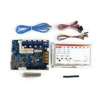 Последняя с настраиваемым потоком воздуха, клон kayfun Duet 2 Maestro современным 32 битным электроники с 5 ''5 дюймов PanelDue 5i интегрированный Цвет Сенсо
