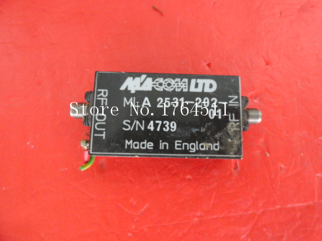 [BELLA] M/A-COM MLA2531-202-01 15V SMA Supply Amplifier