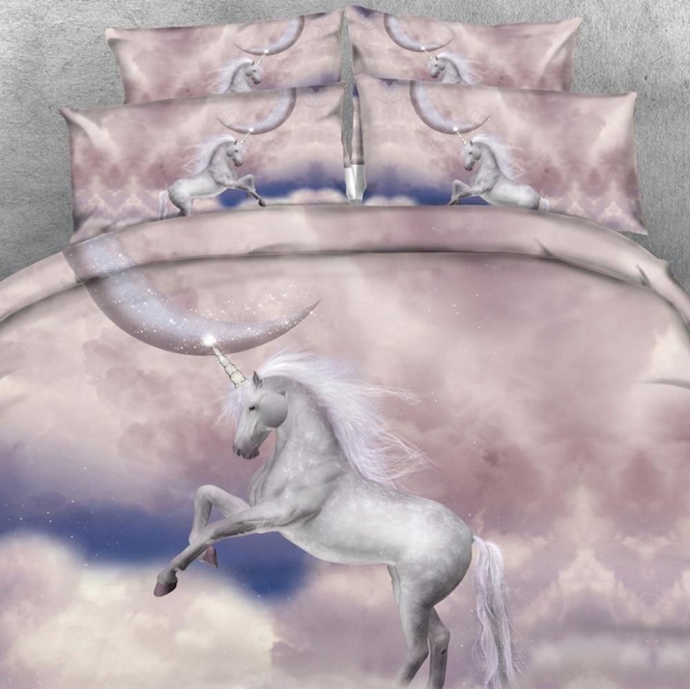 Royal Linen Source Marka 3 PCS PER SET Ana və Körpə Unicorn - Ev tekstil - Fotoqrafiya 4