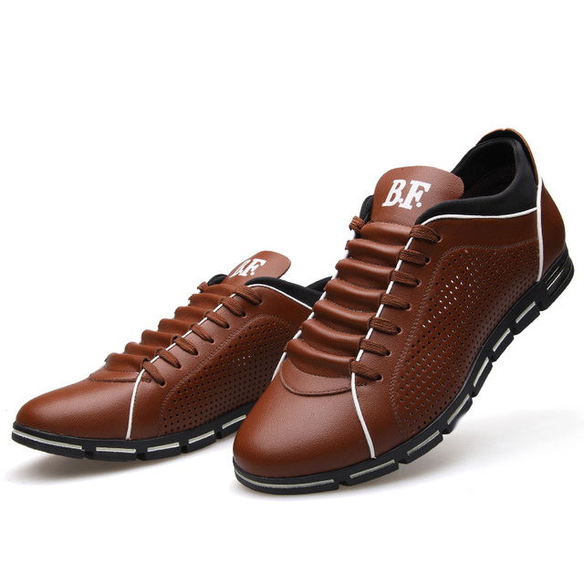 Luxury Breathable Leather Shoes