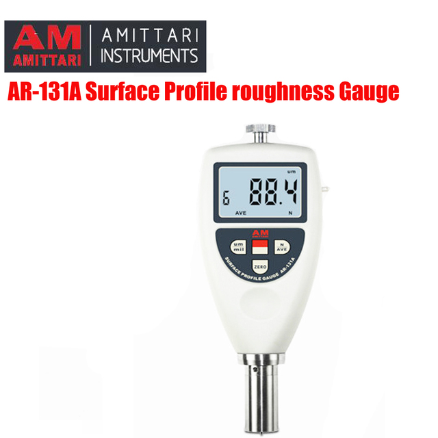 AR-131A powierzchni profil zakres pomiarowy 0um-750um profil powierzchni chropowatości miernik tanie i dobre opinie AMITTARI 0-750um less than 30 0- 50 less than 80 RH 170*63*24 mm 2*1 5v AAA 310g Surface Profile Gauge
