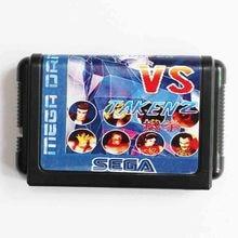 VR Fighter Vs Taken 2 16 bit MD Video Game Card For Sega Mega Drive For Genesis