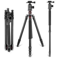 Neewer Carbon Fiber 66/168cm Lightweight Portable Camera Tripod Stand Monopod+360 Degree Ball Head+Bubble Level For Canon Nikon