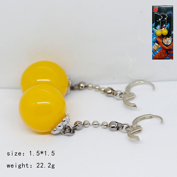 1 Pair Dragon Ball Doll cosplay Korvakorut