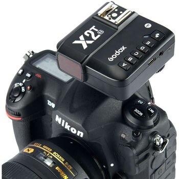 Godox X2 X2T 2.4GHz TTL Wireless Bluetooth Flash Trigger 1/8000s HSS for Nikon Godox V1 TT685C TT350C V860II-C TT600 AD200 Pro