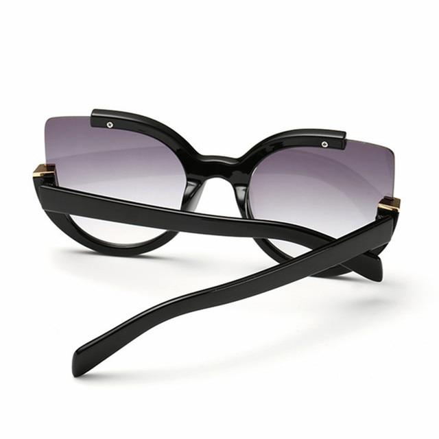 NYWOOH Vintage Sunglasses Women Cat Eye Sun Glasses Womens Brand Designer Mirror Eyewear Ladies Round Frames Eyeglasses UV400 3