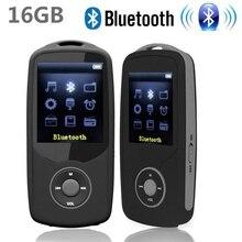 Новинка 2017 года оригинальный ruizu X06 16 г Bluetooth MP3 плеера 1.8 дюймов 100Hr Высокое качество без потерь Регистраторы fm Радио Спорт Walkman