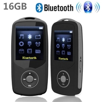 2015 New Original RUIZU X06 Bluetooth Sports MP3 Music Player 16G 1 8Inch Screen 100hours High