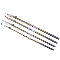 2017 The Latest Design Of Fishing Rod Stream Hand Carbon Fiber Casting Telescopic Lightweight Toughness Fishing