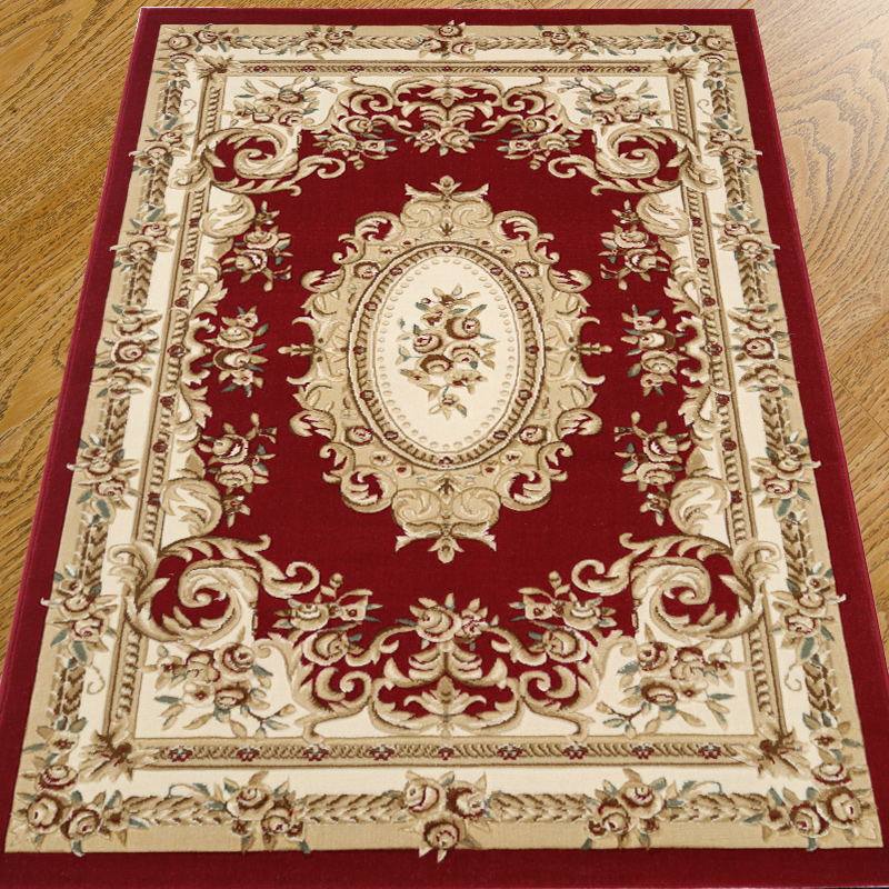 Europe Palace Rugs And Carpets For Home Living Room Coffee Table Floor Mat  Luxury Study Area