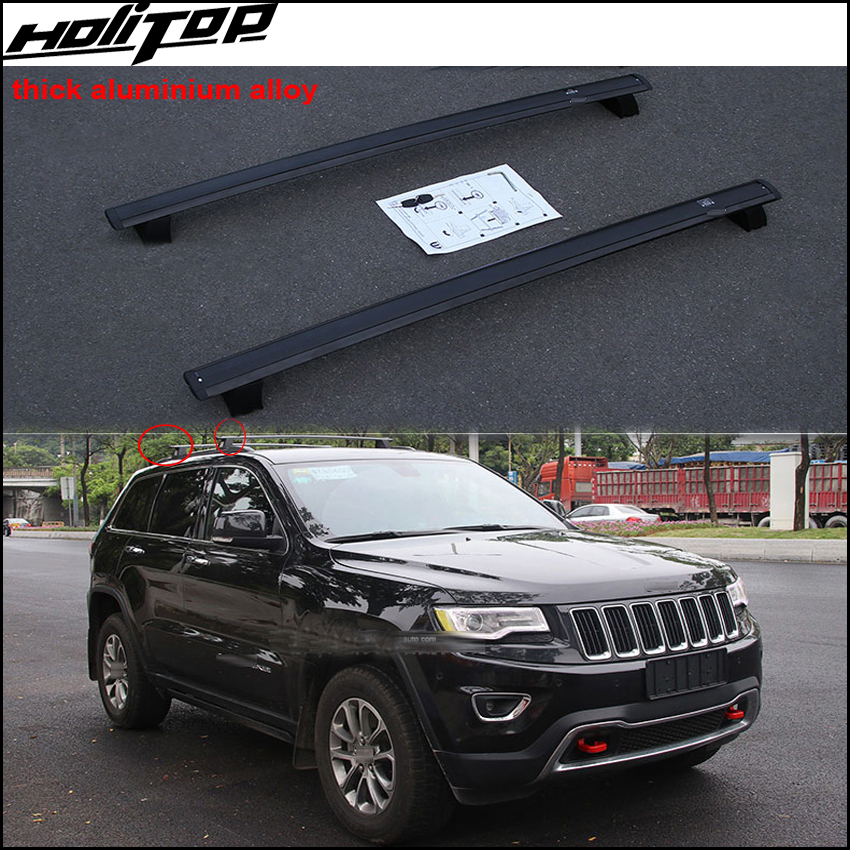 Hottest roof rail luggage bar roof rack for jeep Grand Cherokee 2011 2017 OE model 100