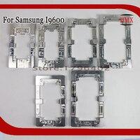 2Pcs Aluminium Metal Alignment Moulds For Samsung Galaxy i9600 Phone OCA Laminate Fixed Mold Replace LCD UV Glue Mold Glass
