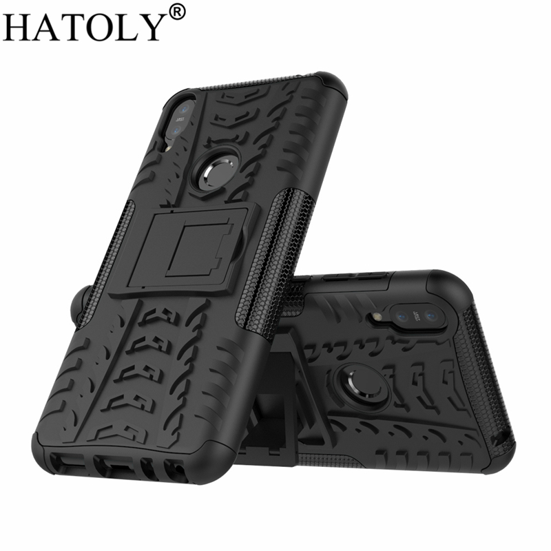 HATOLY For Cover Asus Zenfone Max Pro M1 ZB602KL Case Armor Silicon Hard Plastic Cases For Asus Zenfone Max Pro M1 ZB601KL X00TD